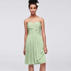 David's Bridal Dress in Meadow Green size 0